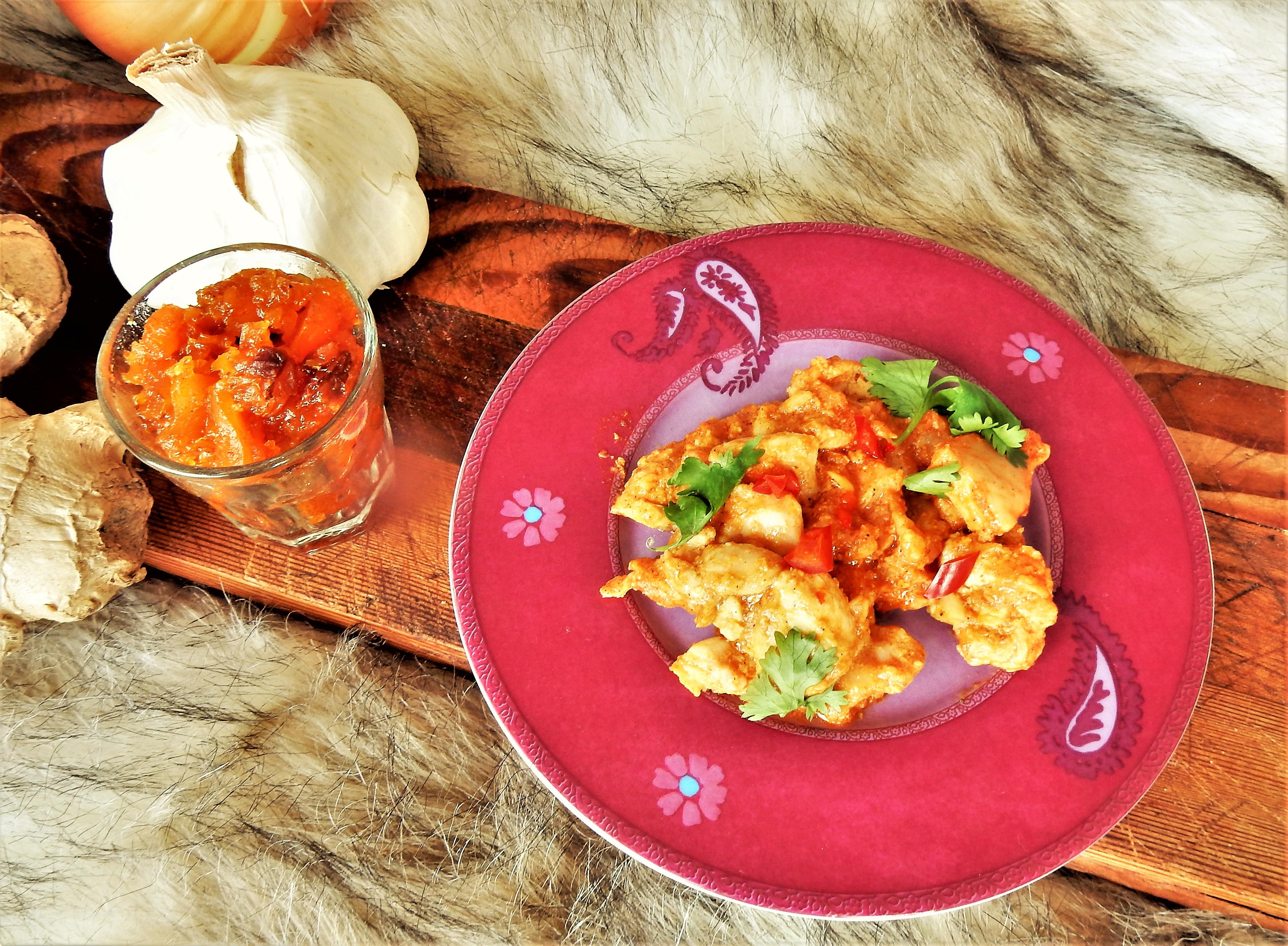 Curry: Tikka Masala met kip