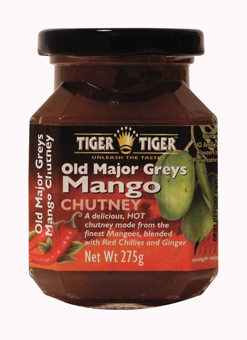 mango chutney gemaakt door Major Grey