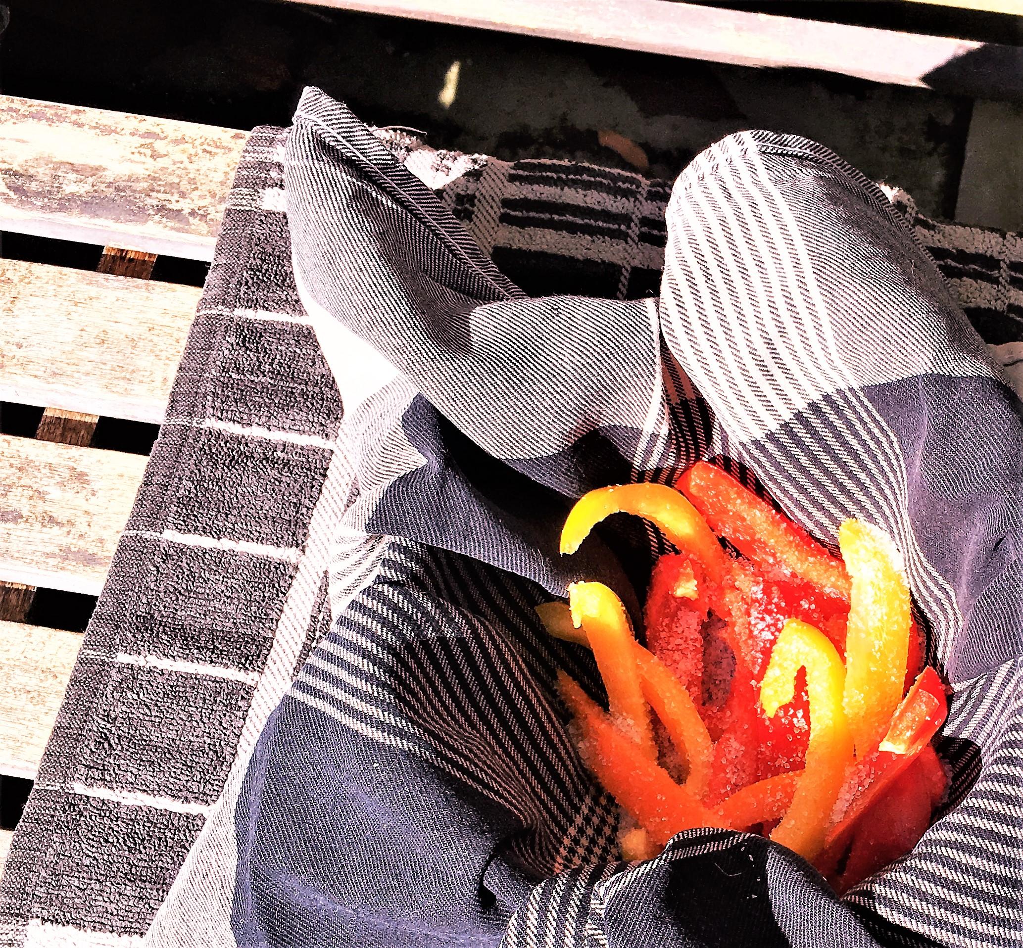 Massa de pimentão, de Portugese paprikasaus.