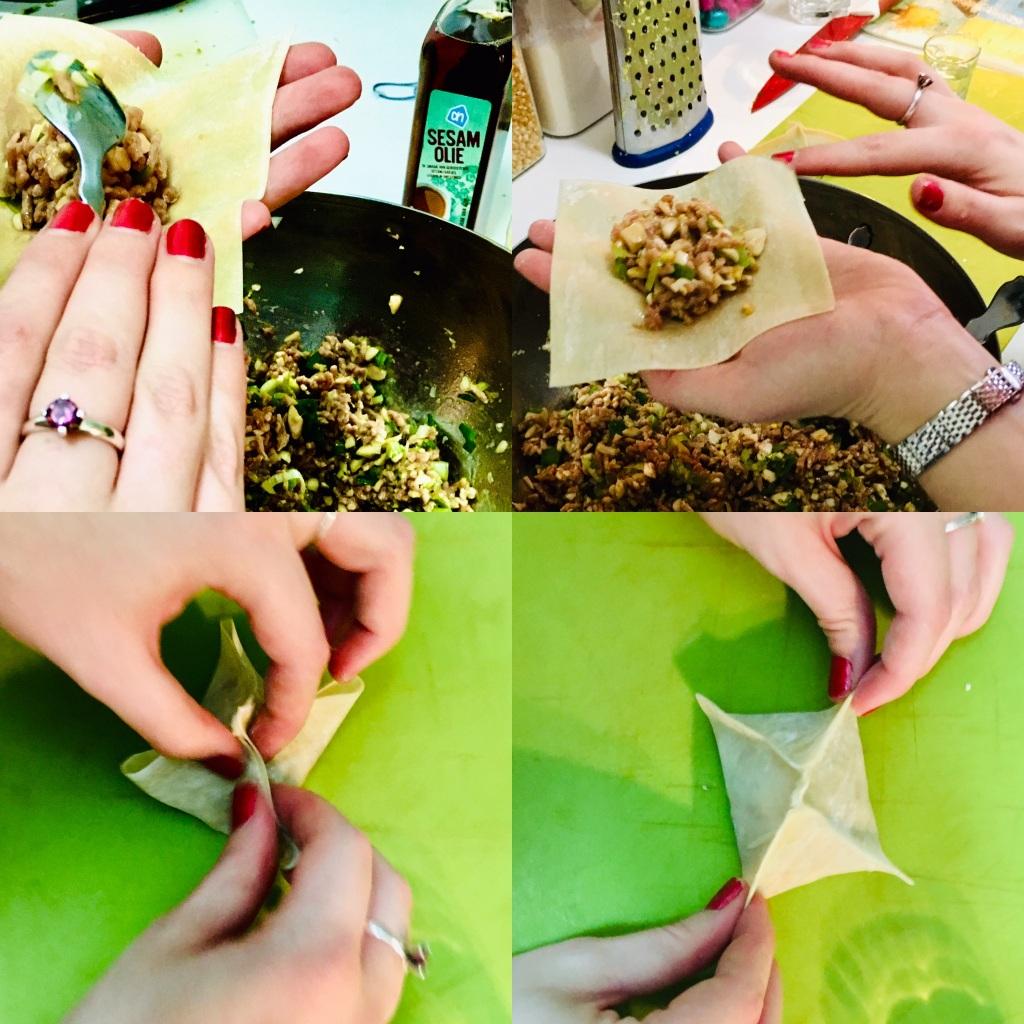 Dumplings (wonton) zelf maken